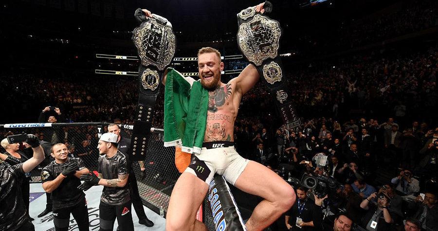 Conor McGregor impazzito su un pullman